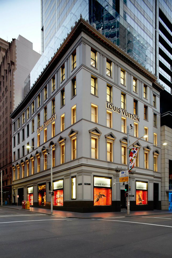 187 Louis Vuitton George Street Maison Sydney
