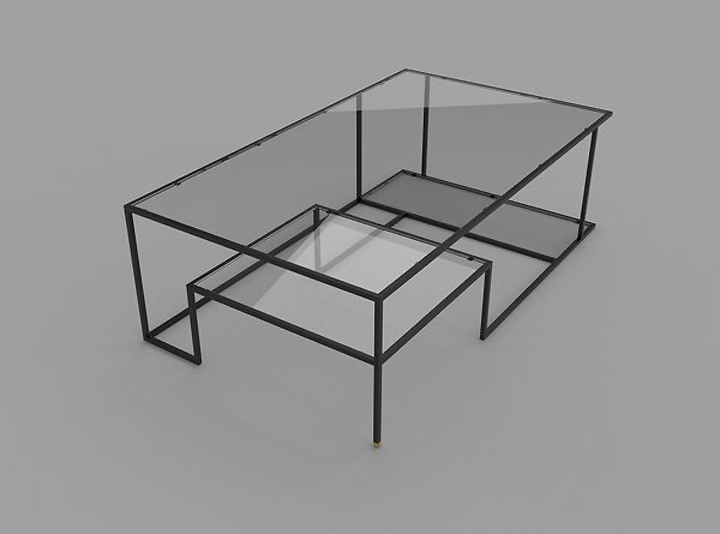 Right Angles coffee table by Jason Phillips Design » Retail Design ...
