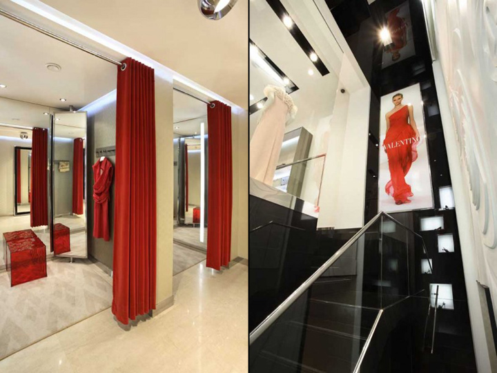 Moliera 2 boutique by robert majkut warsaw retail for Boutique rooms