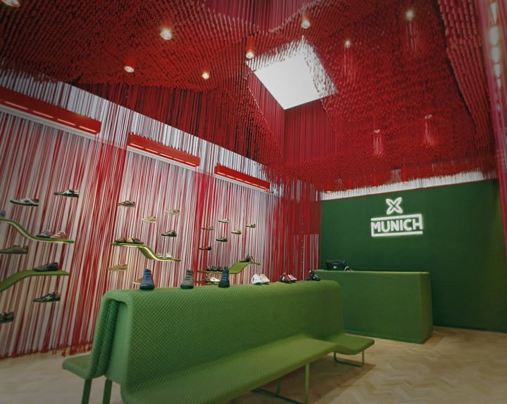Munich store by dear design kildare village shopping mall for Sofa munchen design