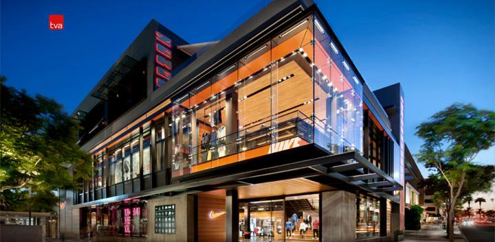 Nike Field House By Tva Architects Santa Monica 187 Retail