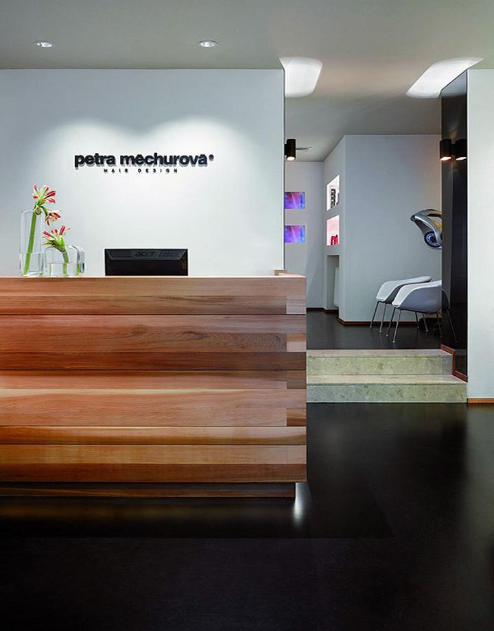 Petra mechurova hair salon prague retail design blog - Interior hair salon lighting ideas ...