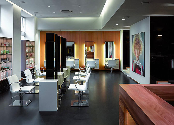 Petra mechurova hair salon prague retail design blog for Hair salons designs ideas