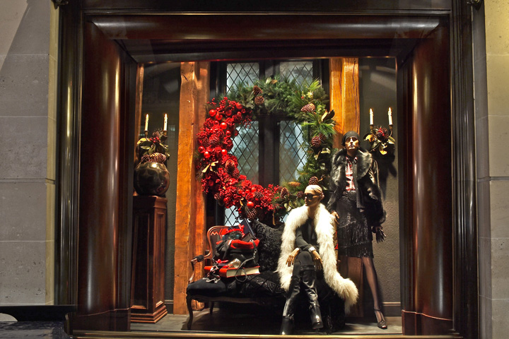 Ralph Lauren windows London Ralph Lauren windows, London