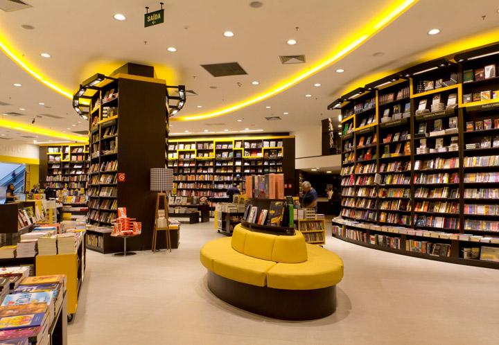 Saraiva Bookstore by FAL Design Estrategico Sao Paulo Saraiva Bookstore by FAL Design Estratégico, São Paulo