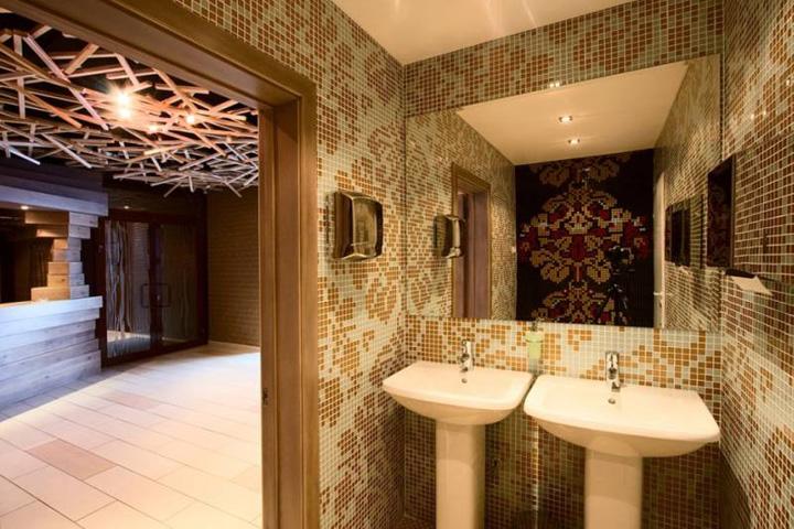 Bathroom Decorating Ideas For Restaurants : Sliver restaurant by darkdesigngroup ? retail design
