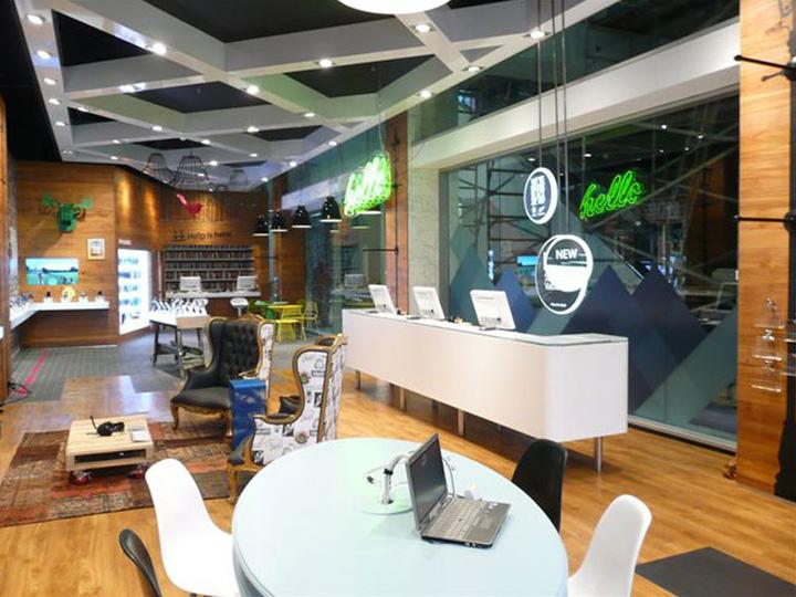 Telecom store Gascoigne Associates Designworks Wellington 03 Telecom store by Gascoigne Associates & Designworks, Wellington   New Zealand