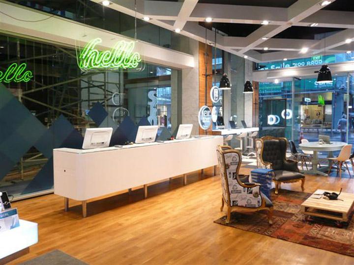 Telecom store Gascoigne Associates Designworks Wellington 04 Telecom store by Gascoigne Associates & Designworks, Wellington   New Zealand