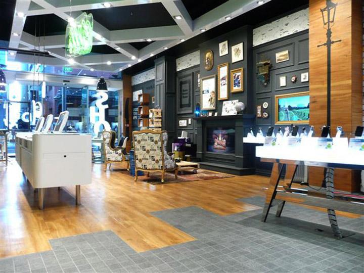 Telecom store Gascoigne Associates Designworks Wellington 05 Telecom store by Gascoigne Associates & Designworks, Wellington   New Zealand