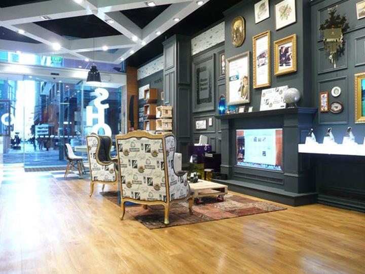 Telecom store Gascoigne Associates Designworks Wellington 06 Telecom store by Gascoigne Associates & Designworks, Wellington   New Zealand
