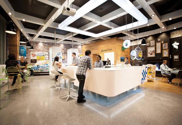 187 Telecom Store By Gascoigne Associates Amp Designworks