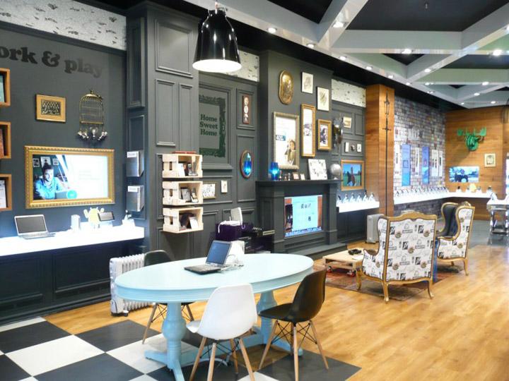 Telecom store Gascoigne Associates Designworks Wellington Telecom store by Gascoigne Associates & Designworks, Wellington   New Zealand