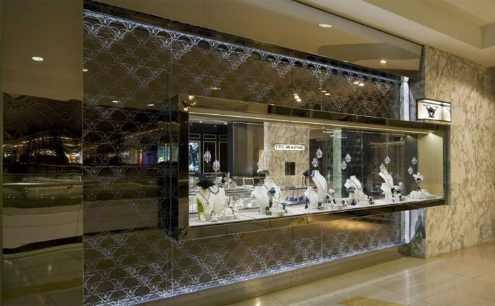 trewarne jewelry store by mim design chadstone