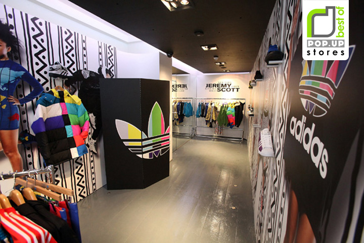 undefeated x new authentic brand new POP-UP! Adidas Originals – Jeremy Scott pop-up store, London