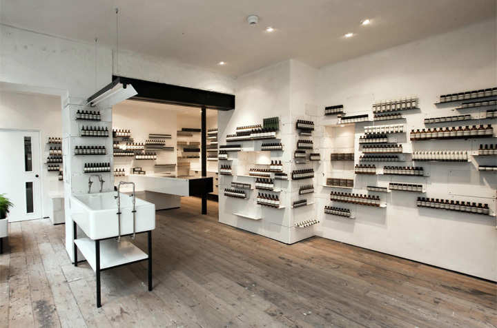 Aesop store by Cigue London 04 Aesop store by Ciguë, London