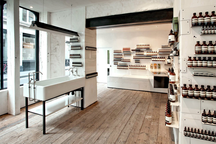 Aesop store by Cigue London 05 Aesop store by Ciguë, London