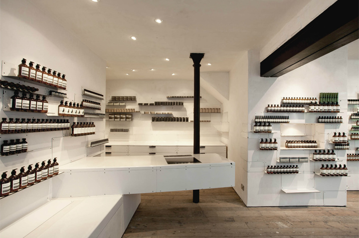Aesop store by Cigue London 06 Aesop store by Ciguë, London