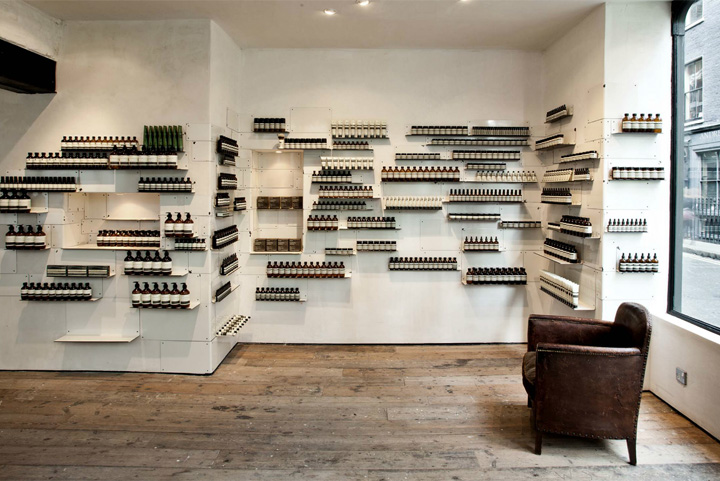 Aesop store by Cigue London 07 Aesop store by Ciguë, London