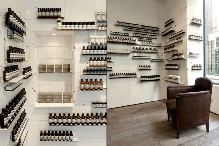 Aesop store by Cigue London 08 Aesop store by Ciguë, London