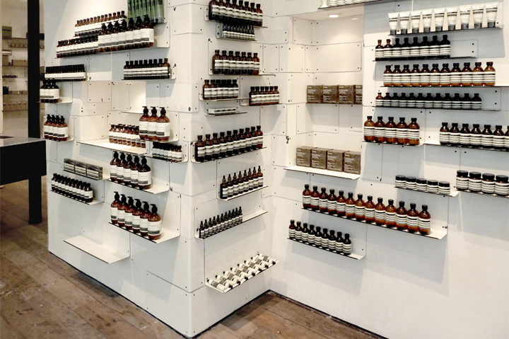 Aesop store by Cigue London 09 Aesop store by Ciguë, London