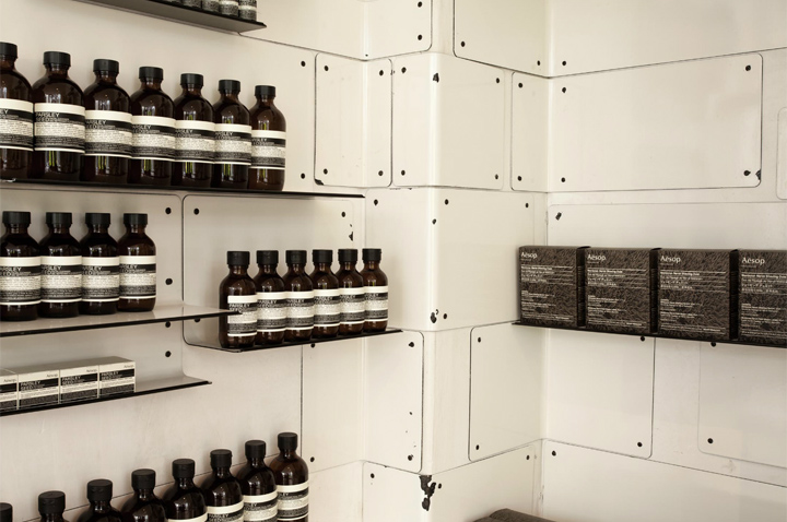 Aesop store by Cigue London 10 Aesop store by Ciguë, London