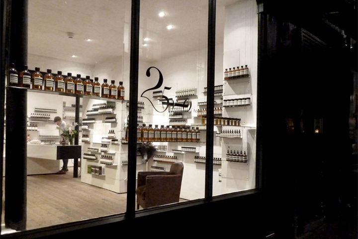 Aesop store by Cigue London 12 Aesop store by Ciguë, London