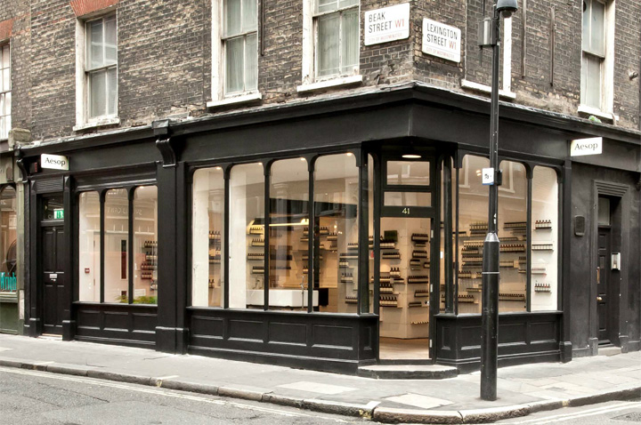 Aesop store by Cigue London 13 Aesop store by Ciguë, London