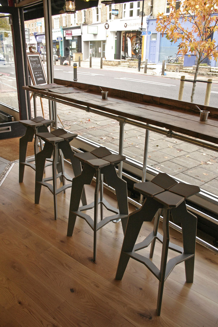 Artisan Coffee Interior Furniture By Liquidesign London Retail Design Blog