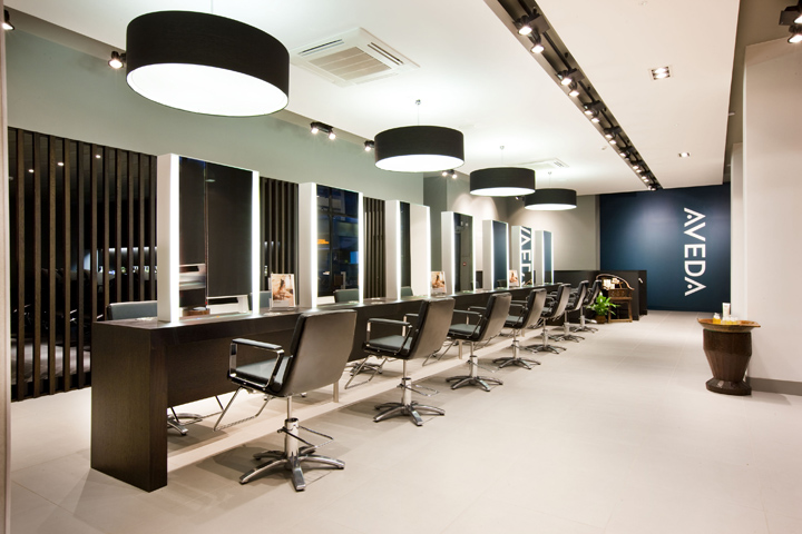 187 Aveda Lifestyle Salon Amp Spa Flagship By Reis Design Leeds