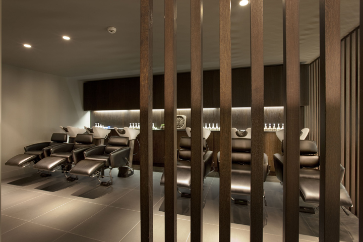 Aveda lifestyle salon spa flagship by reis design leeds for A b beauty salon