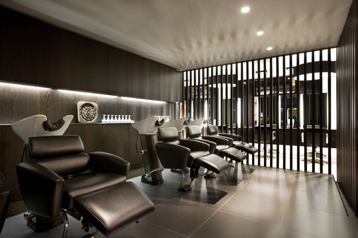 aveda lifestyle salon spa flagship by reis design leeds retail design blog. Black Bedroom Furniture Sets. Home Design Ideas