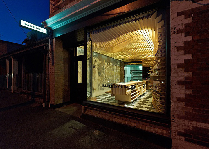Baker D Chirico Brand Identity Amp Interior Carlton
