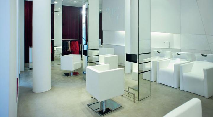 Bartosz Janusz hairdresser salon by MOOMOO Warsaw 02 Bartosz Janusz hairdresser salon by MOOMOO, Warsaw