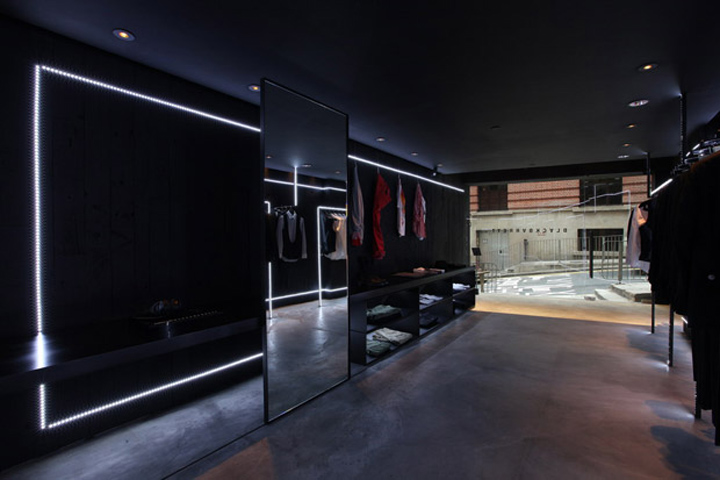 black barrett store hong kong 187 retail design blog
