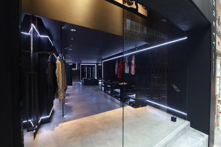 187 Black Barrett Store Hong Kong