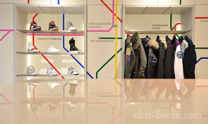 CLVII store Berlin 04 CLVII store, Berlin