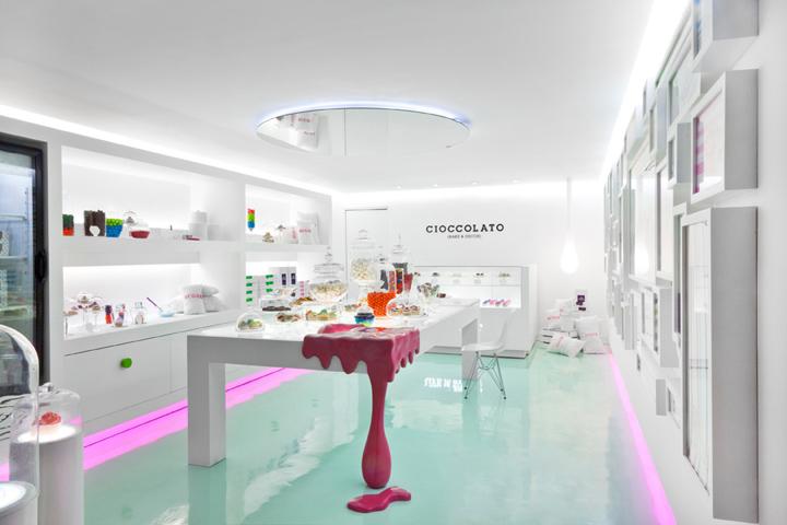 Cioccolato Brand Identity Interior By Savvy Studio Retail Design Blog