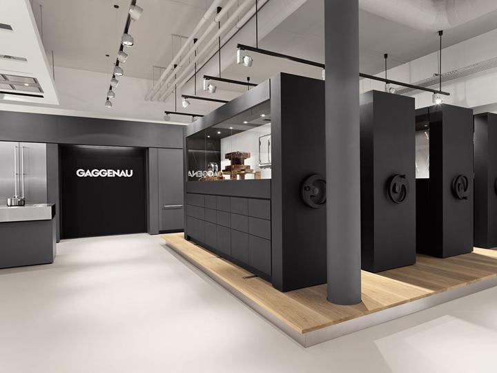 Gaggenau showroom amsterdam retail design blog - Cucine gaggenau ...