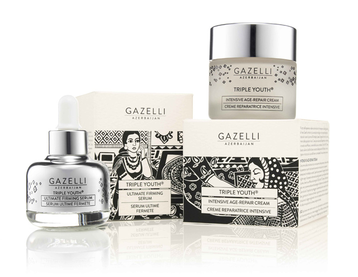 187 Gazelli Cosmetics Azerbaijan Packaging