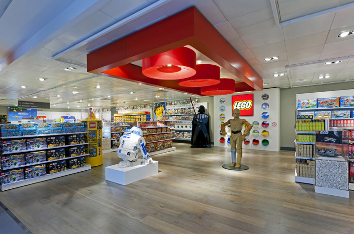 individual product groupings create specific zones shop in shops held