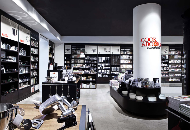 Mondadori Cook Books Shop By Hangar Design Group Milan