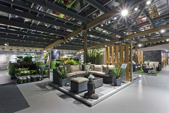 next home and garden by dalziel and pow shoreham uk retail design blog