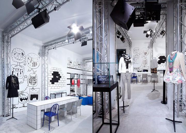 Pop Up Colette Chanel Pop Up Shop Paris