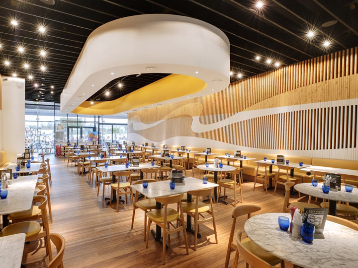 Pizza express by baynes co designers plymouth