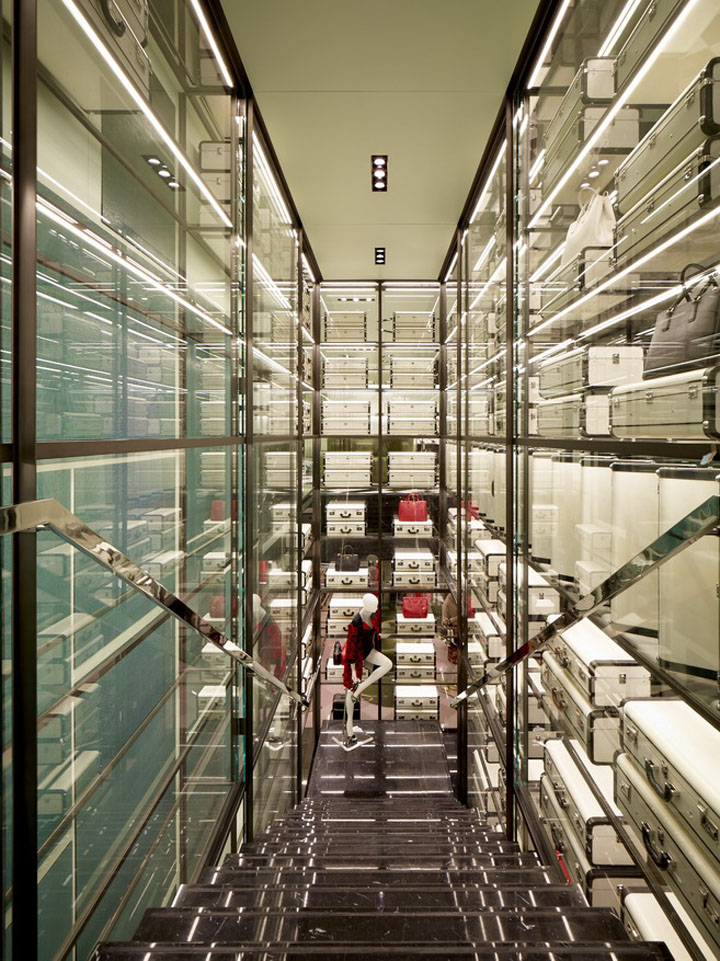 Prada Store By Roberto Baciocchi Paris 187 Retail Design Blog