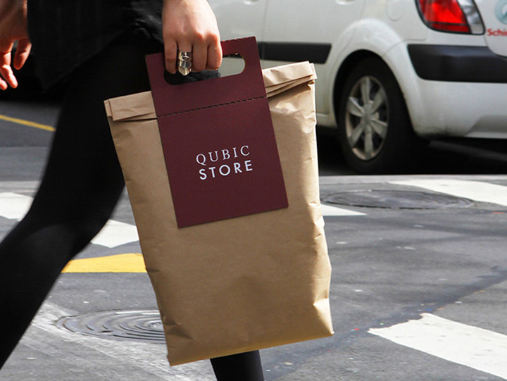 Qubic Store bags by Casey Ng » Retail Design Blog