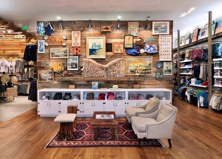 Quiksilver South Coast Plaza Flagship Store Remodel Retail Design Blog