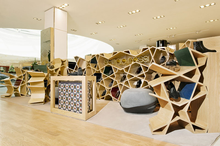 Sergio Rossi Shop By Younes Duret Design Casablanca