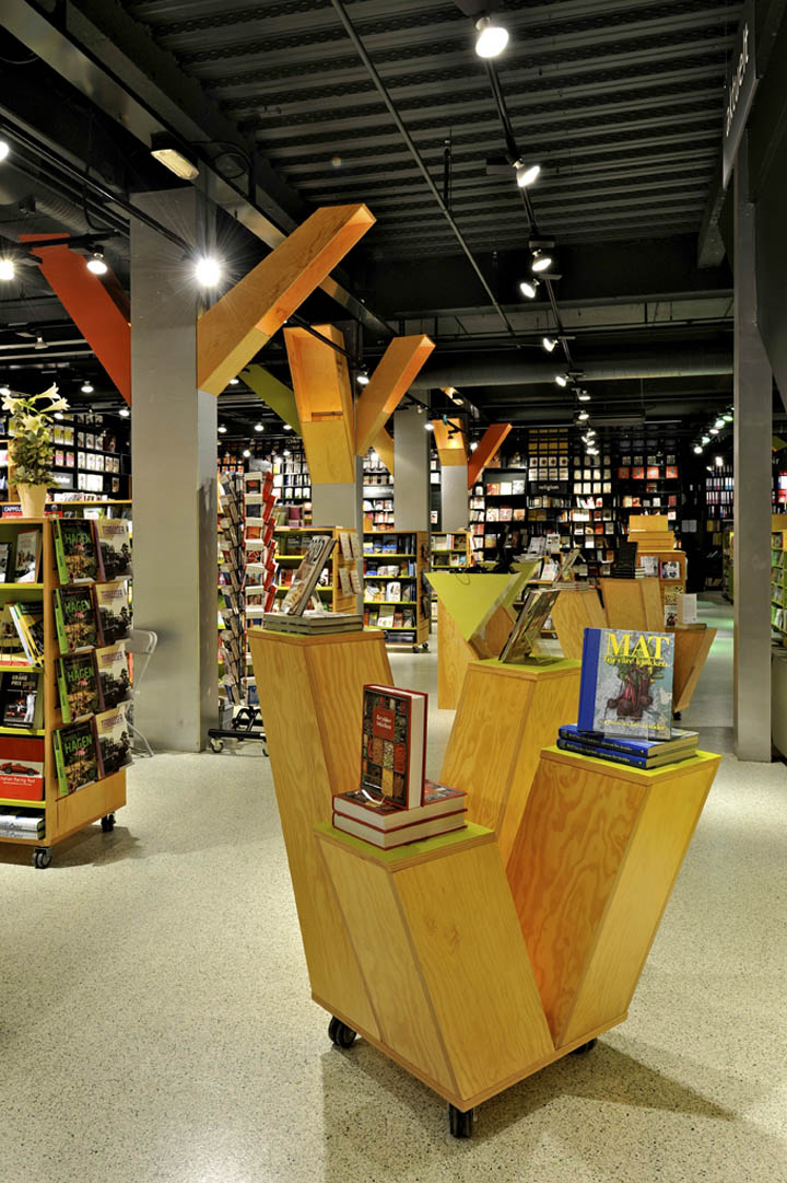 Tanum Karl Johan bookstore by JVA Oslo 04 Tanum Karl Johan bookstore flagship by JVA, Oslo