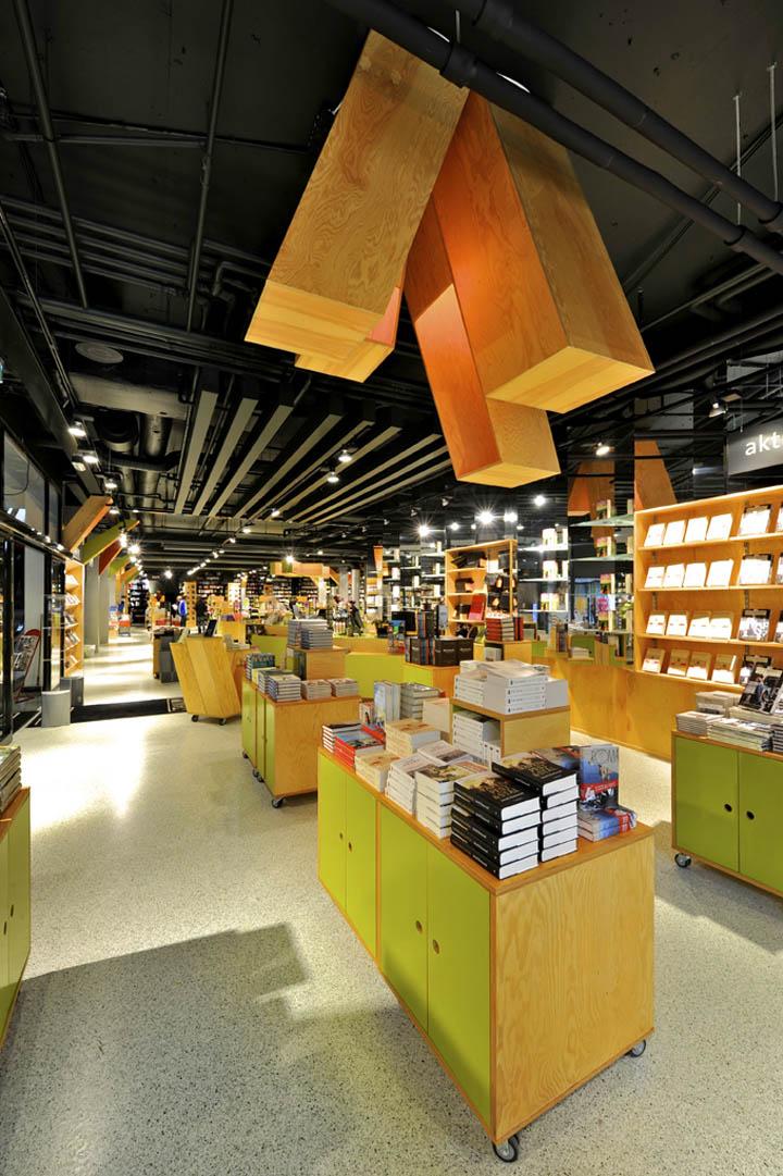 Tanum Karl Johan bookstore by JVA Oslo 05 Tanum Karl Johan bookstore flagship by JVA, Oslo